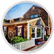 Rockport Ma Round Beach Towel