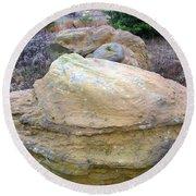 Rocks 4 Round Beach Towel