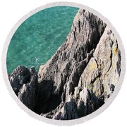 Rocks Of Kerry Round Beach Towel