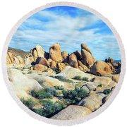 Rocks Upon Rocks Round Beach Towel