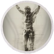 Rocky Round Beach Towel