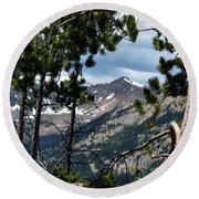 Rocky Mountain National Park 3 Round Beach Towel