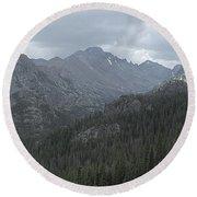 Rocky Mountain National Park Round Beach Towel