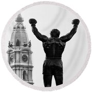 Rocky - Philly's Champ Round Beach Towel