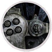 Rods And Bolts Round Beach Towel