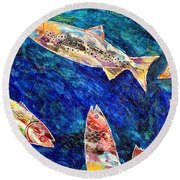 Rogue Wave Round Beach Towel