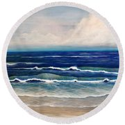 Roll Tide Round Beach Towel