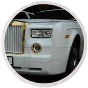 Rolls Royce Phantom Round Beach Towel