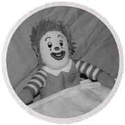 Ronald Mcdonald Round Beach Towel