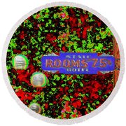 Rooms For Rent Round Beach Towel