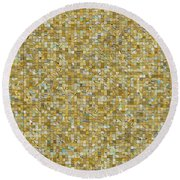 Rooms Of Gold Round Beach Towel