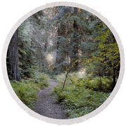 Roosevelt Grove Round Beach Towel