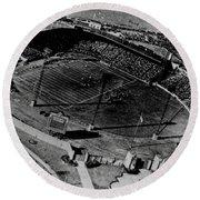 Vintage - Roosevelt Stadium Round Beach Towel