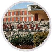 Root Hall 1 Round Beach Towel