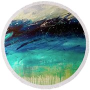 Root Of Imagination Round Beach Towel