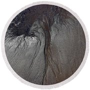 Rooted Round Beach Towel