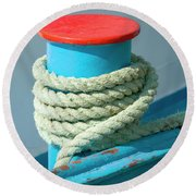 Rope Coil Round Beach Towel