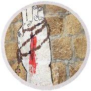 Rosary Round Beach Towel