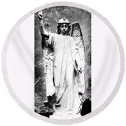 Roscommon Angel No 2 Round Beach Towel