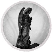 Roscommonn Angel No 4 Round Beach Towel