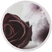 Rose #005 Round Beach Towel