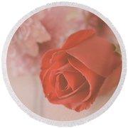 Rose #007 Round Beach Towel