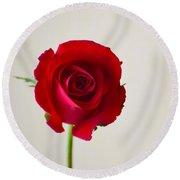 Rose #022 Round Beach Towel