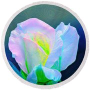Rose 86 Round Beach Towel