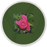 Rose Arcana Round Beach Towel