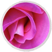 Rose Detail 1 Round Beach Towel