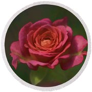 Rose Fragrance Round Beach Towel