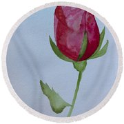 Rose Round Beach Towel