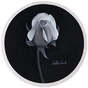 Rose I Round Beach Towel