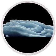 Rose Iceberg Round Beach Towel