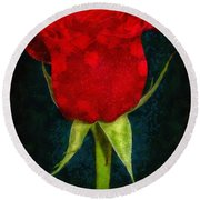 Rose - Id 16236-105012-4033 Round Beach Towel