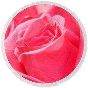 Rose Petals - 1 Round Beach Towel