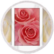 Rose Series  Round Beach Towel