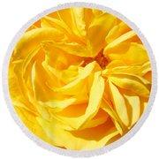 Rose Spiral Flower Garden Baslee Troutman Round Beach Towel