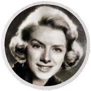 Rosemary Clooney, Music Legend Round Beach Towel