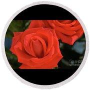 Roses-5814 Round Beach Towel