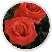 Roses-5840 Round Beach Towel