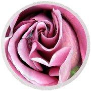 Roses Roses Round Beach Towel