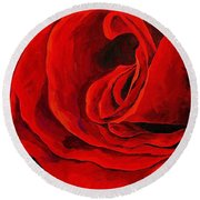 Rouge Round Beach Towel