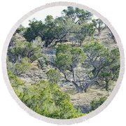 Rough Country Round Beach Towel