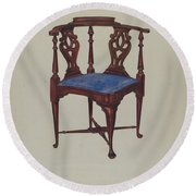 Roundabout Chair Round Beach Towel