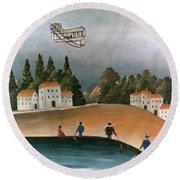 Rousseau: Fishermen, 1908 Round Beach Towel
