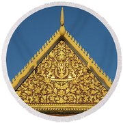 Royal Palace 12  Round Beach Towel
