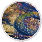 Rubber Fish Round Beach Towel
