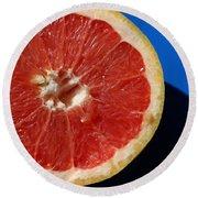 Ruby Red Grapefruit Round Beach Towel