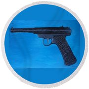 Ruger Round Beach Towel